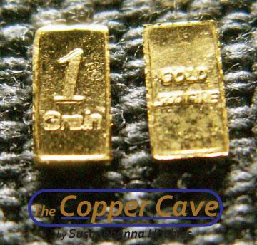 1 Grain Gold Bars Bullionstacker
